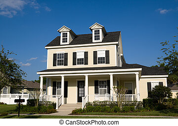 Two-Story With Porch