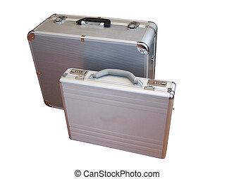 suit-case from aluminum manufactured,