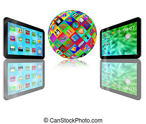 two tablet