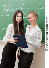 two teachers are discussed