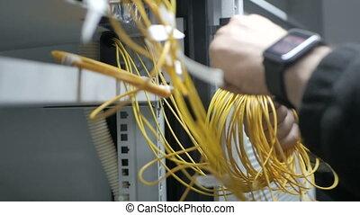 Two telecom engineers