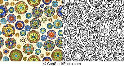 Two Temari Ball Patterns