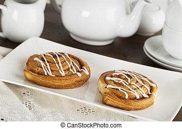 Two Tempting Cinnamon Rools