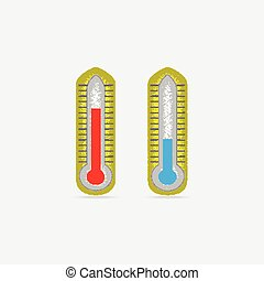 Two Thermometer icons