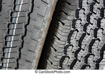 Two Tires Texture