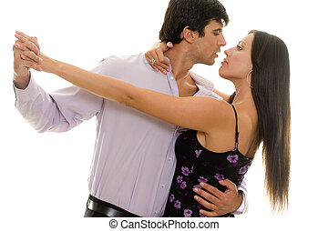 Two to Tango - Man and woman tango together