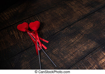 two valentines hearts