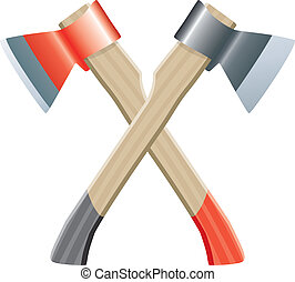 two vector axes