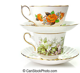 Vintage Coffee Or Tea Cups - Two Vintage Coffee Or Tea Cups...