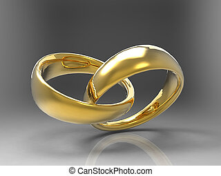 Two wedding bands