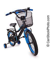 black children's bicycle
