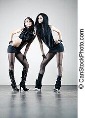 Two women fashion