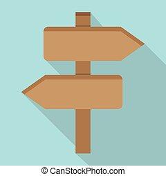 Two Wooden Arrow