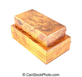 two wooden box (Myanmar style)