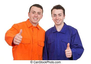 Two workman