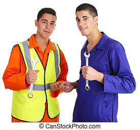 Two workmen