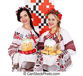 twobeautiful Ukrainian women