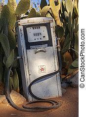twyfelfontein, namibiaer, pump, drivmedel, -, årgång