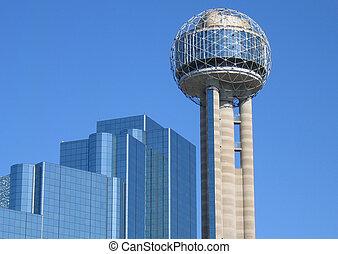Tx - building in dallas Texas united states of america