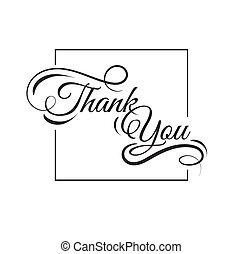 ty, dziękować, karta