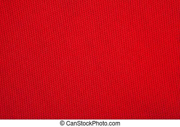tyg, struktur, röd