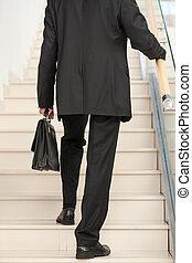 tylny prospekt, od, niejaki, handlowa osoba, rosnąco, przedimek określony przed rzeczownikami, schody