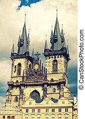 tyn, プラハ, 教会