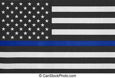 tynd, amerika, beklæde, forenede stater flag, blå