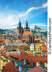 St Vita cathedrals - Tynsky and St Vita cathedrals among the...