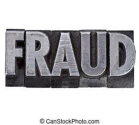 type, fraude, métal, mot