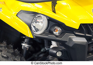 headlights - type headlights of the vehicle, note shallow...