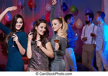 typen, dancefloor, mädels, ohne