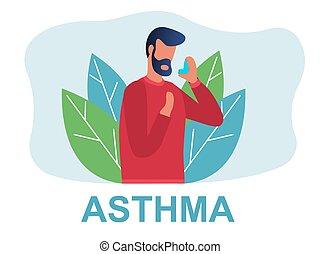 types, asthme, maladies, différent