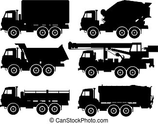 types, camions