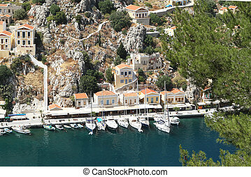 Types of capital of the island of Symi 3