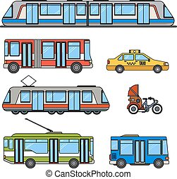 Types of city transport
