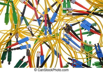 types of optical fiber