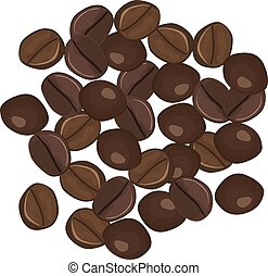 Types of robusta coffee beans. hot drink - robusta coffee...