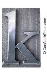 Typescript k  letter