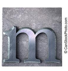 Typescript m  letter