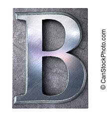 Typescript upper case B   letter