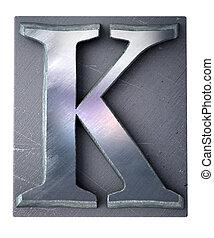 Typescript upper case K   letter