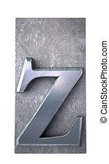 Typescript z  letter