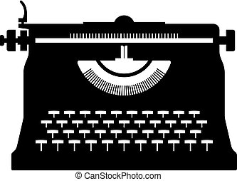 Typewriter, shade picture