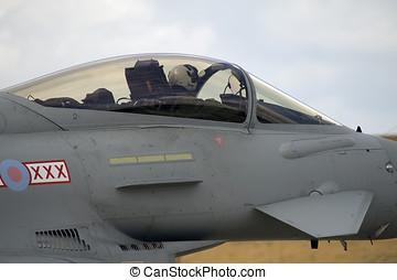 Typhoon - Eurofighter landing
