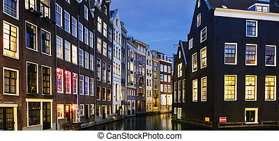 Typical Amsterdam houses