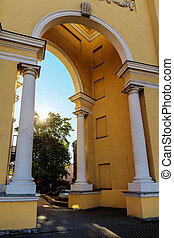 typical arch with columns