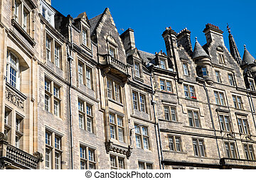 Typical buildings in Edinburgh - Typical victorian buildings...