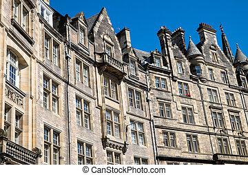 Typical buildings in Edinburgh - Typical victorian buildings...