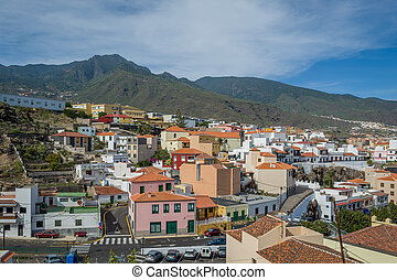 Typical canarian town view, Candelaria - Typical Canary...
